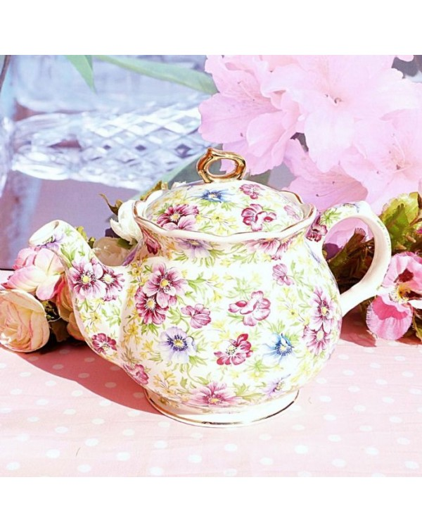 (OUT OF STOCK) SADLER CHELSEA CHINTZ  VINTAGE  TEA...